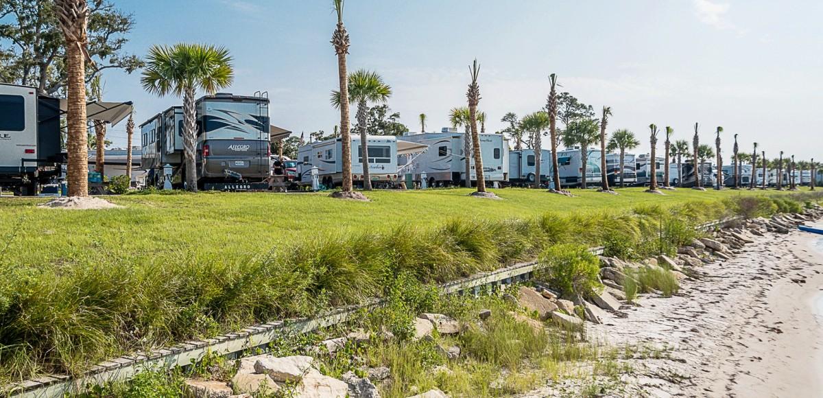 Santa Rosa Rv Resort Waterfront Rv Resort In Navarre Florida